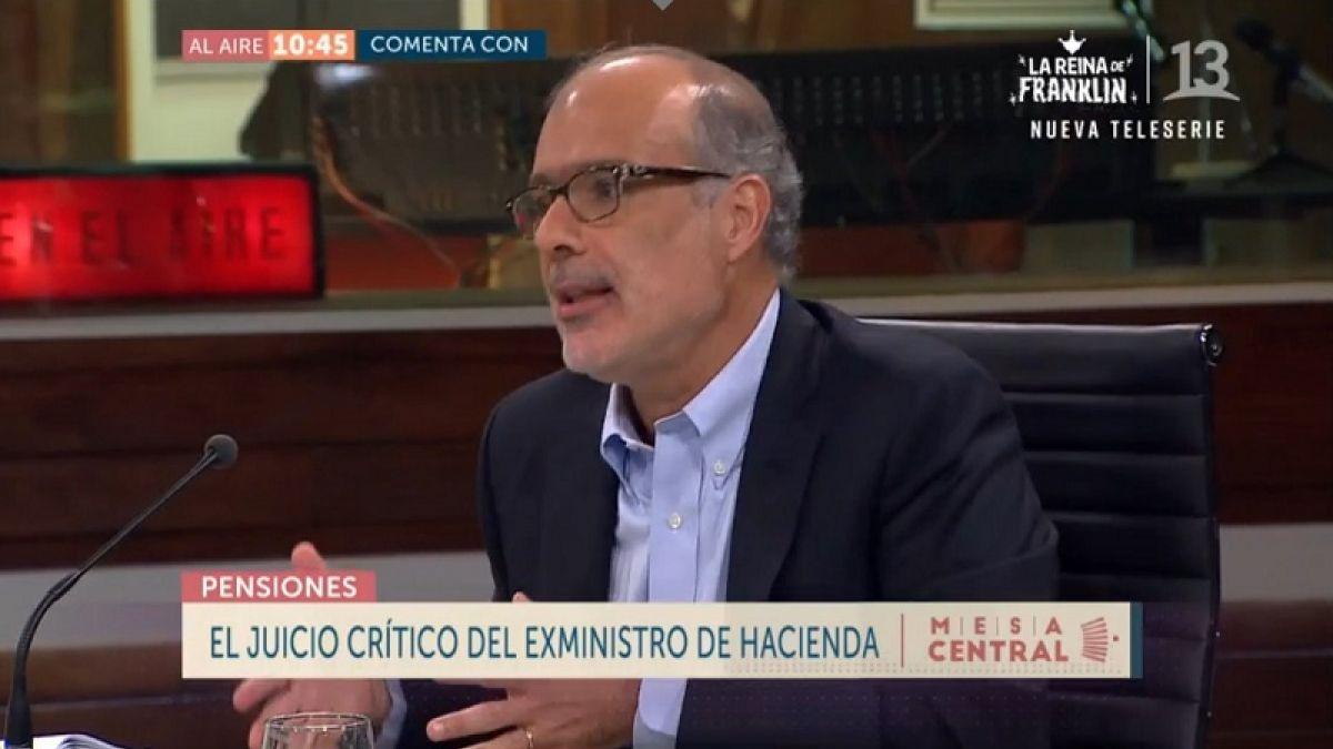 [VIDEO] Rodrigo Valdés y Reforma de Pensiones: El gobierno abrió una compuerta que no podrá cerrar