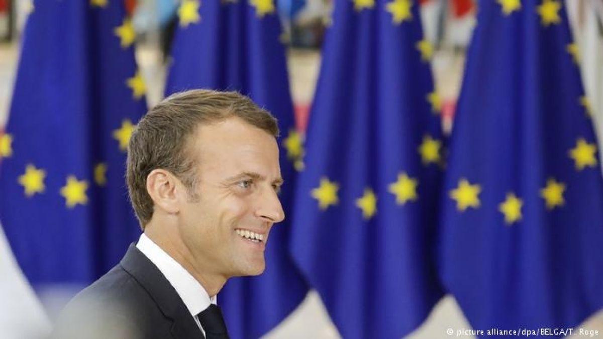 Macron aboga por un verdadero ejército europeo