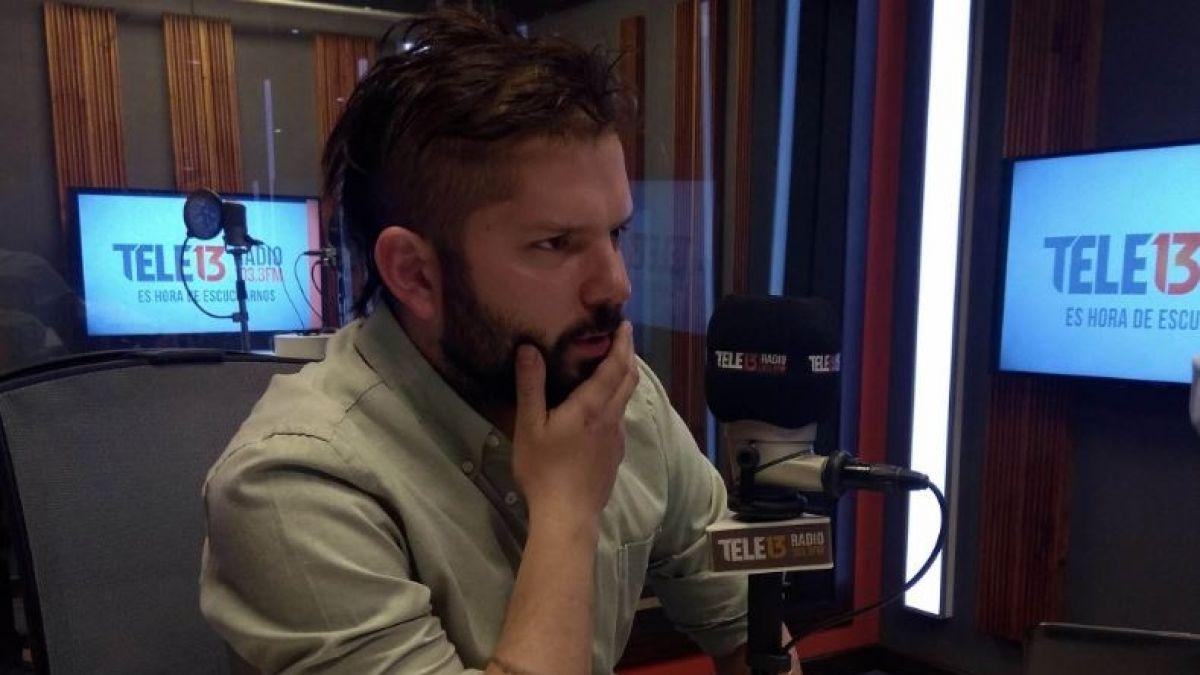 Boric por Palma Salamanca: Asesinar a un senador en democracia no es aceptable