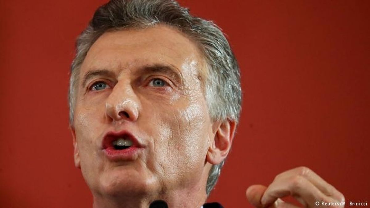 Macri dice que está listo para presentarse a la reelección