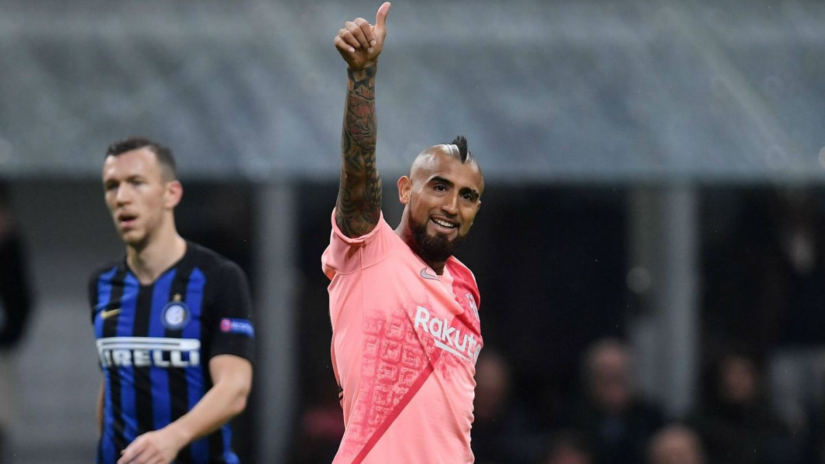 Los insultos que recibió Arturo Vidal en Milan por Champions League