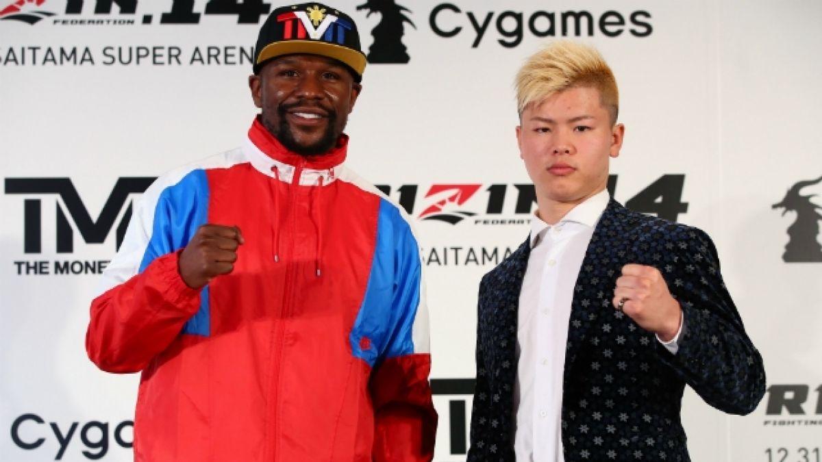 Floyd Mayweather cancela su pelea con el japonés Nasukawa