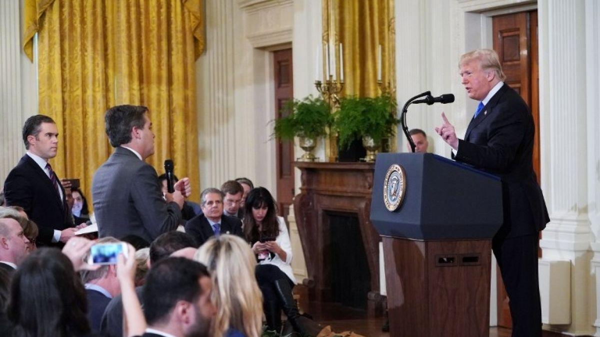 Image result for La Casa Blanca suspende el pase de prensa de Jim Acosta