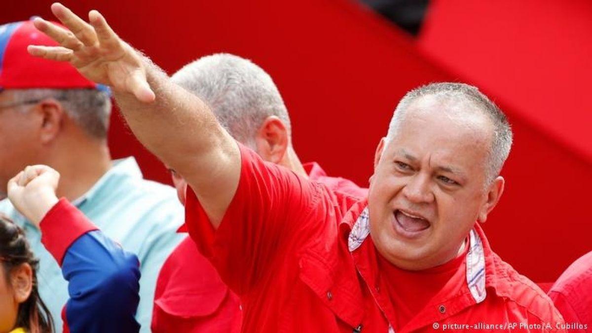 'Ataque a militares venezolanos viene de Colombia': Diosdado Cabello
