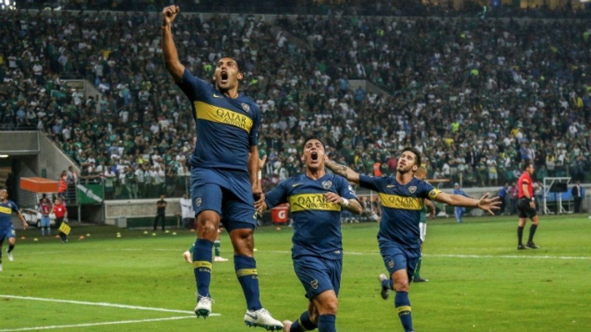[FOTOS] Tentando al destino: En Argentina ya se venden poleras de Boca campeón de la Libertadores