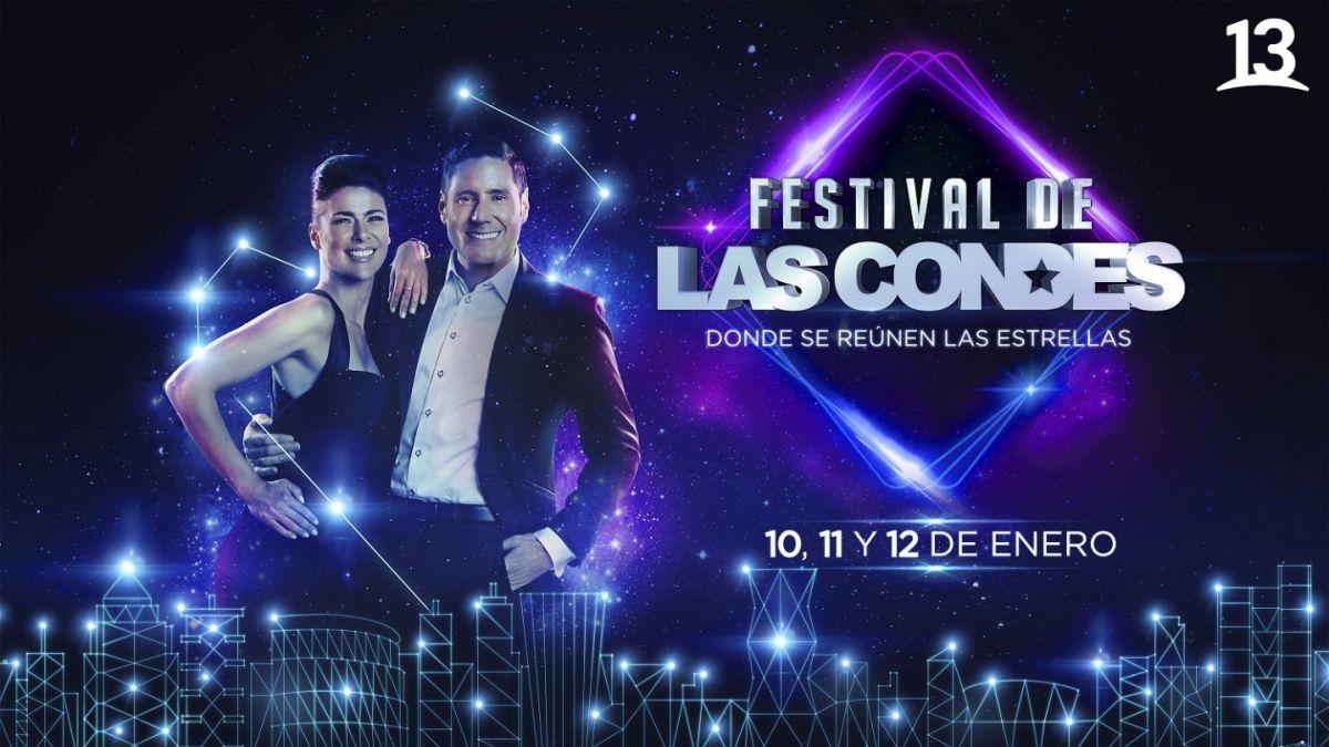 Estos son los artistas confirmados para el Festival de Las Condes | Tele 13