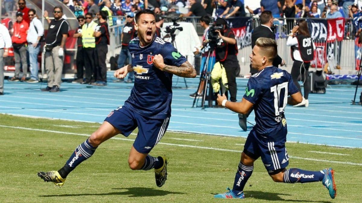 [VIDEO] Mauricio Pinilla sigue siendo el máximo goleador de la U en el Campeonato Nacional