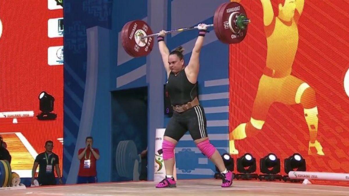 Chilena María Fernanda Valdés obtiene bronce en Mundial de Levantamiento de Pesas
