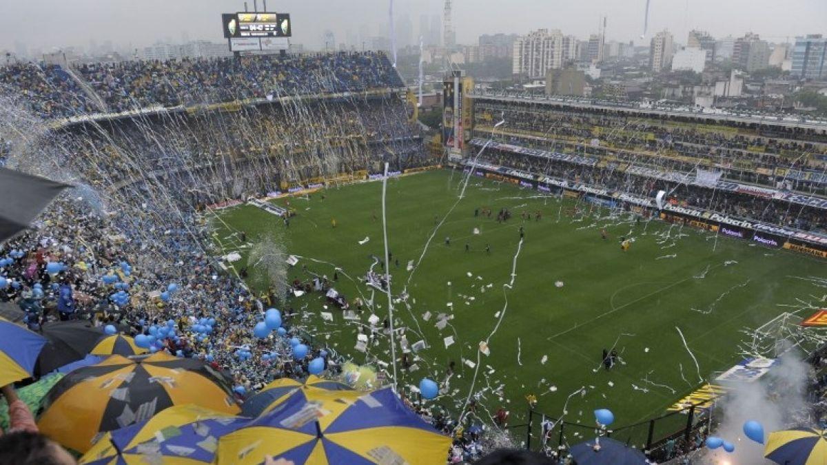[VIDEO] Conmebol evaluaría suspender final de la Libertadores por torrencial lluvia en Buenos Aires