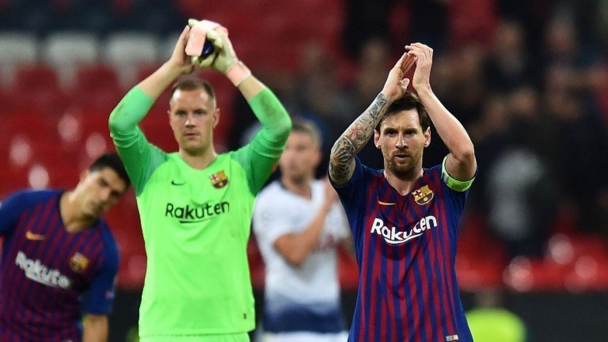 Marc-André Ter Stegen/Lionel Messi
