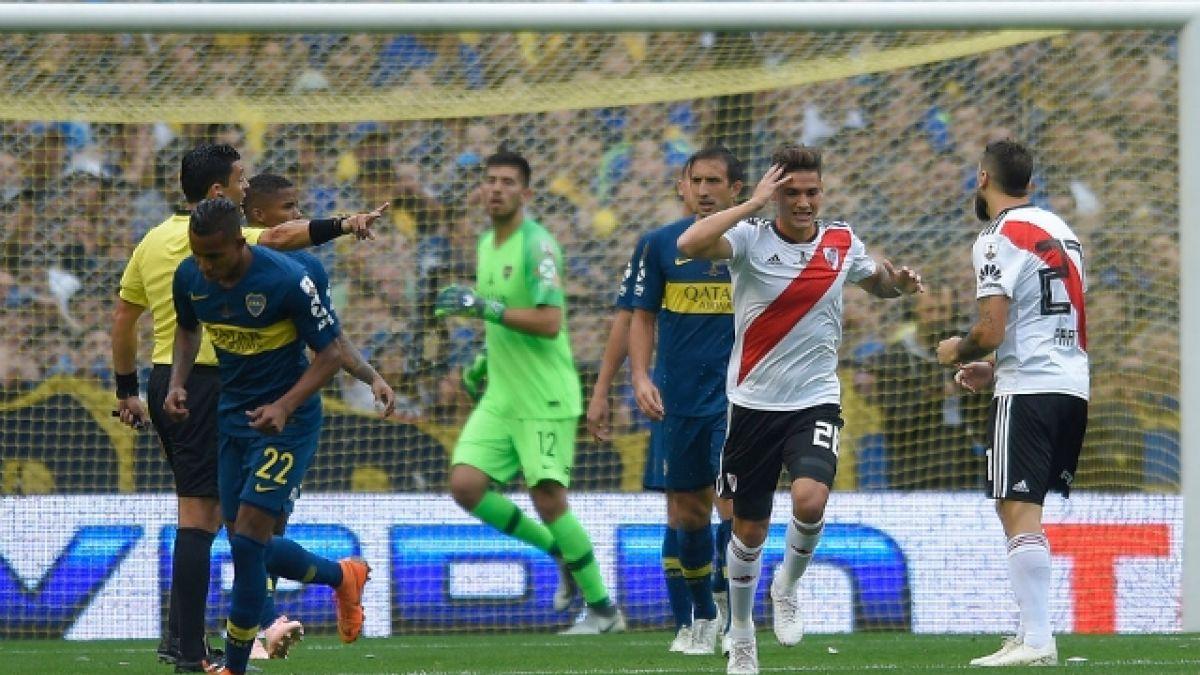 [VIDEO] En Argentina aprueban arbitraje del chileno Roberto Tobar en final de Copa Libertadores