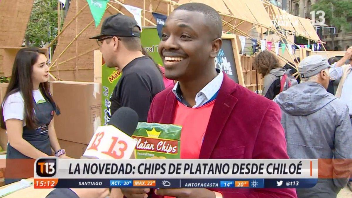 [VIDEO] La historia del haitiano que hizo un exitoso emprendimiento natural en base a plátano verde