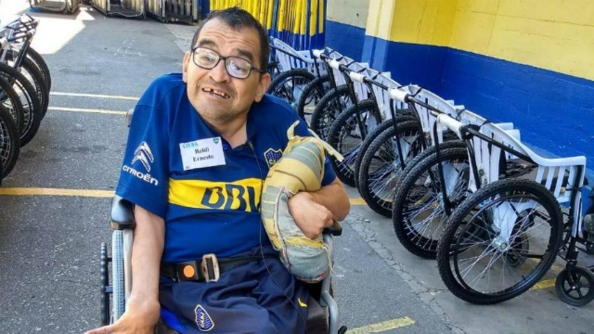 Hincha de Boca Juniors: Cambio mi silla de ruedas por ganar la Libertadores