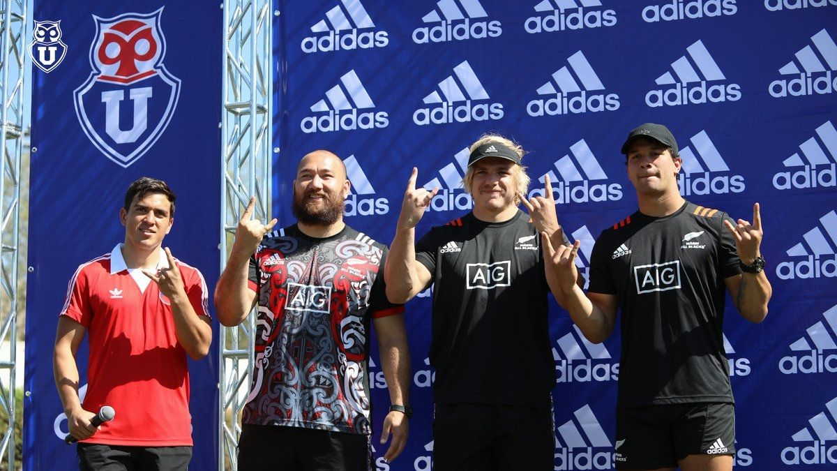 [VIDEO] Los Maorí All Blacks visitaron al plantel de Universidad de Chile