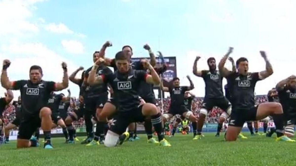 [VIDEO] Revisa el esperado haka de los Maorí All Blacks para enfrentar a Chile