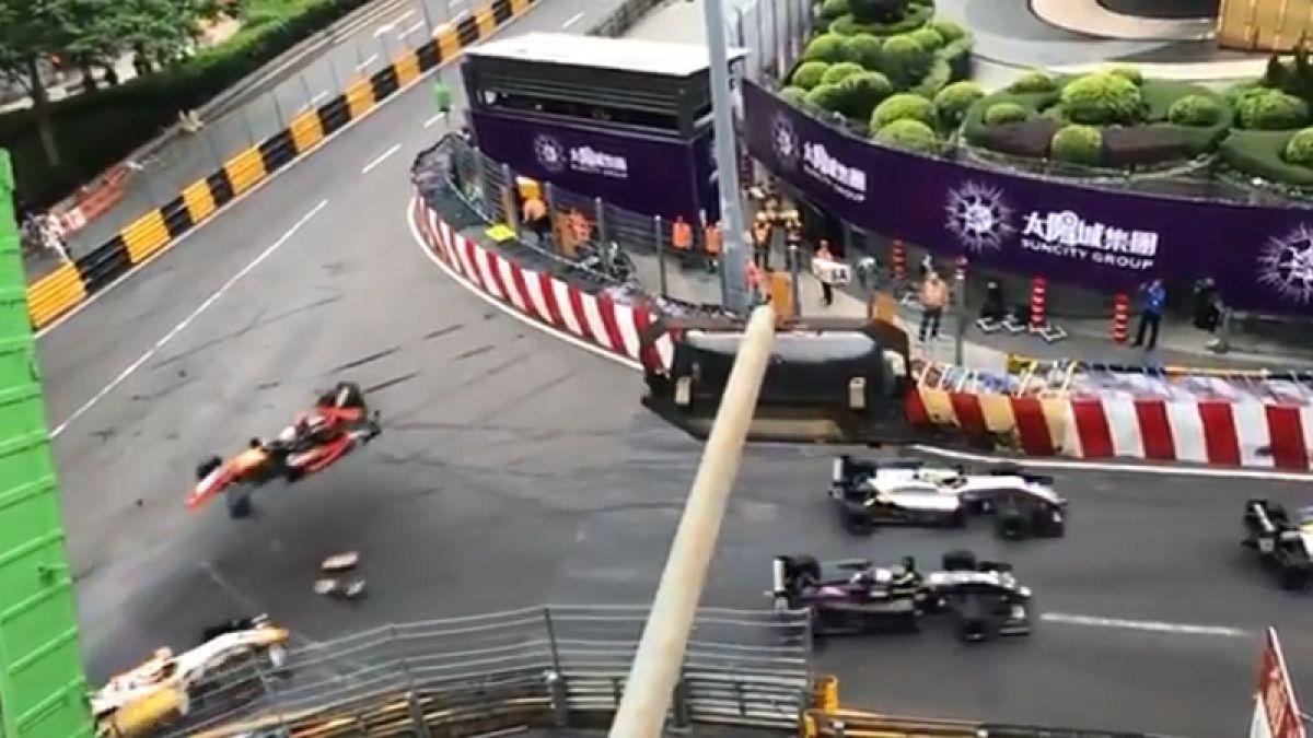 [VIDEO] El impactante choque de una piloto de 17 años en plena carrera de la Fórmula 3