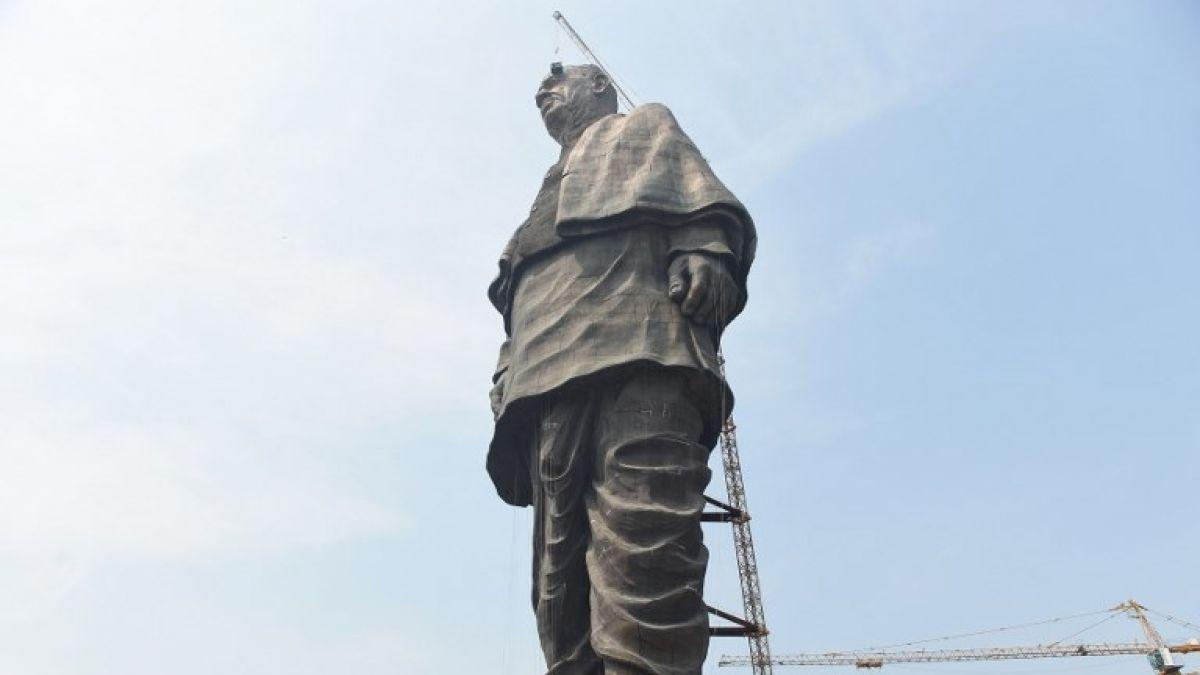 Así se ve desde el espacio la estatua más grande del mundo