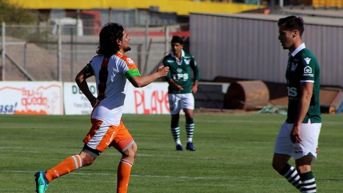 Cobresal vence a Santiago Wanderers en dramático partido y está a un paso del ascenso