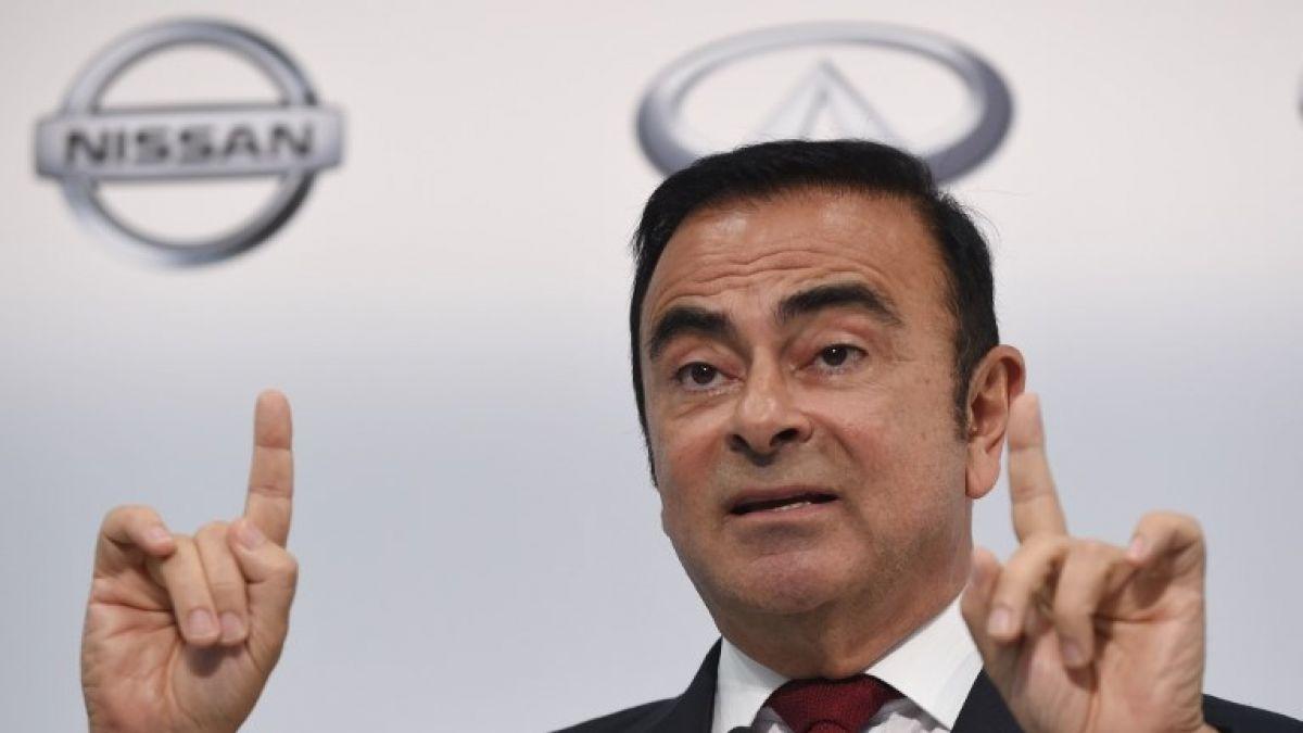 Presidente del grupo Nissan-Renault es detenido por presunta malversación