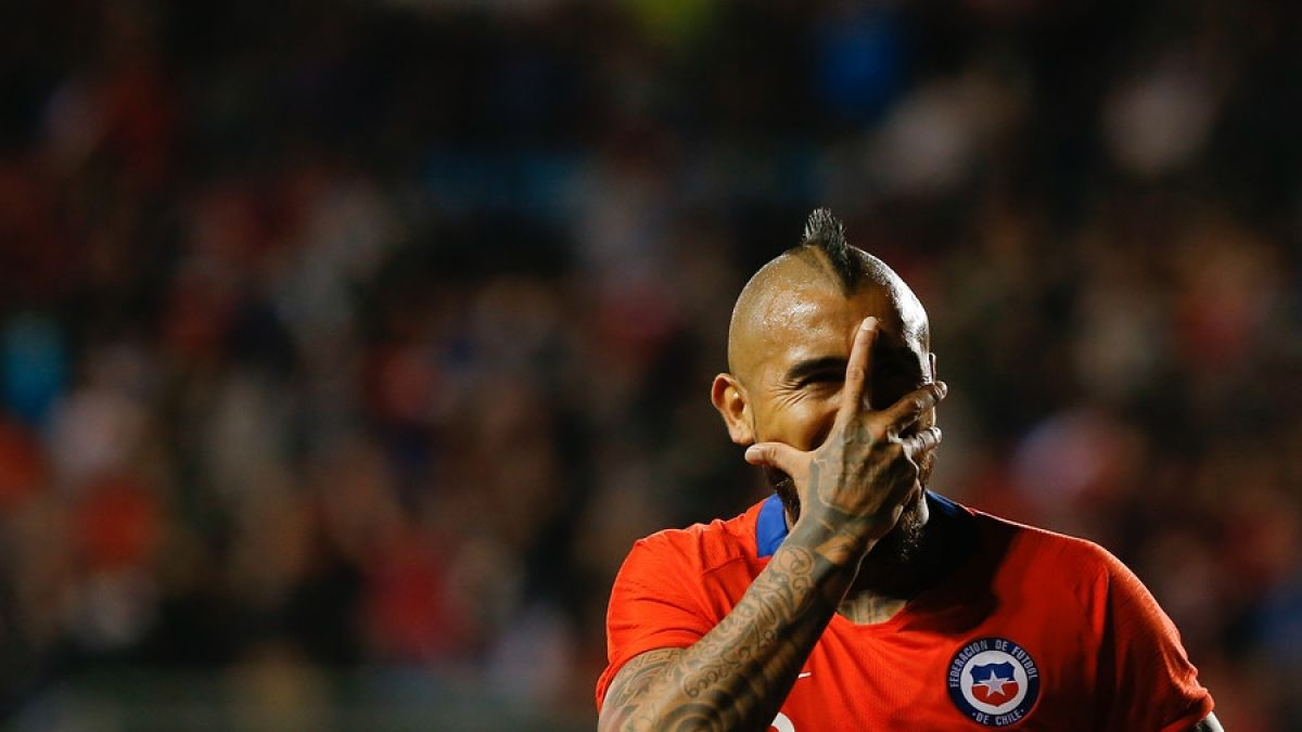 [FOTO] Vidal agradece a Temuco y envía motivador mensaje a sus seguidores tras triunfo ante Honduras