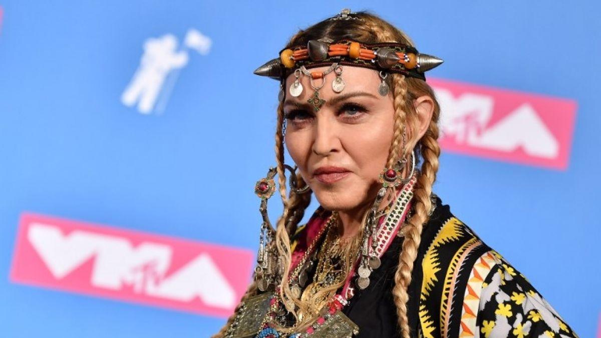 Madonna sorprendió en las redes sociales con una foto muy particular