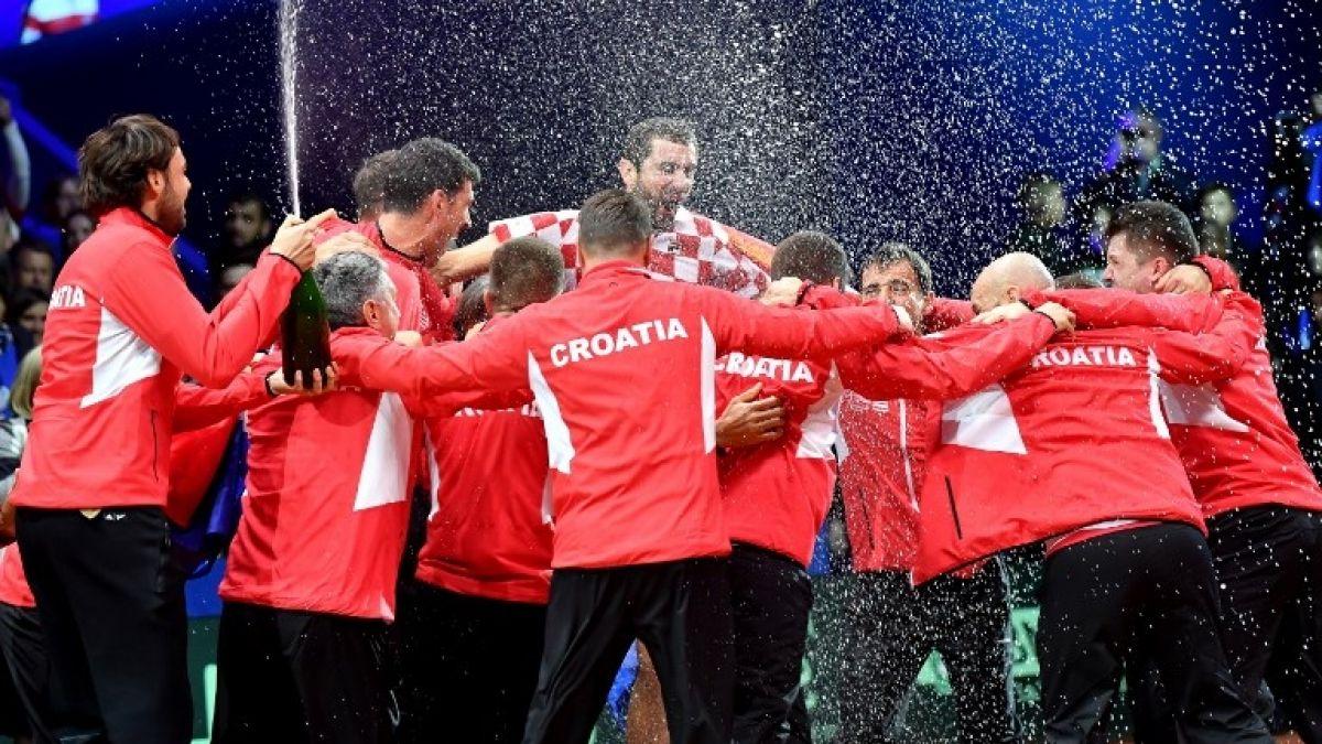 Croacia, campeón de la Copa Davis