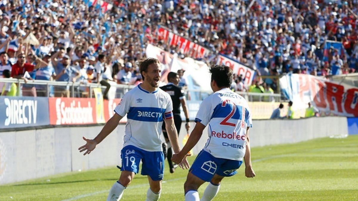 Católica venció por la mínima a OHiggins y está a un paso de coronarse campeón del fútbol chileno