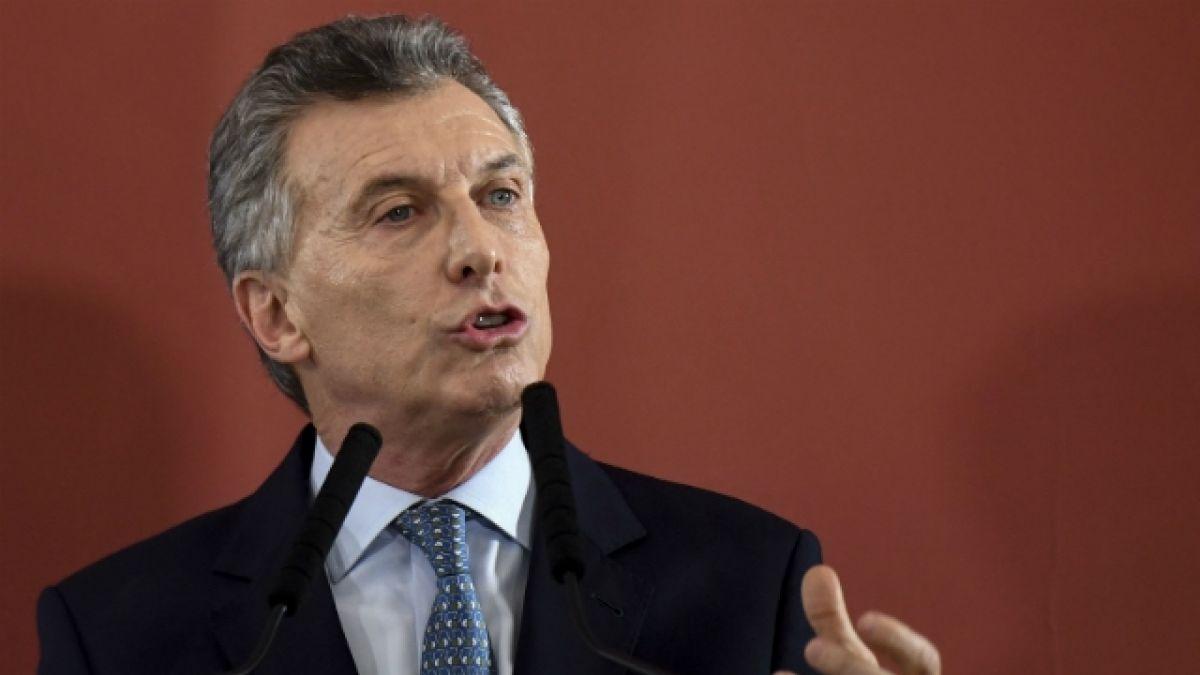 [VIDEO] El enérgico anuncio del presidente de Argentina tras incidentes en la final River-Boca