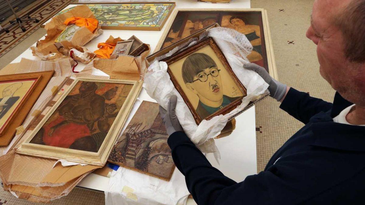 Google recuerda al pintor japonés — Léonard Tsuguharu Foujita