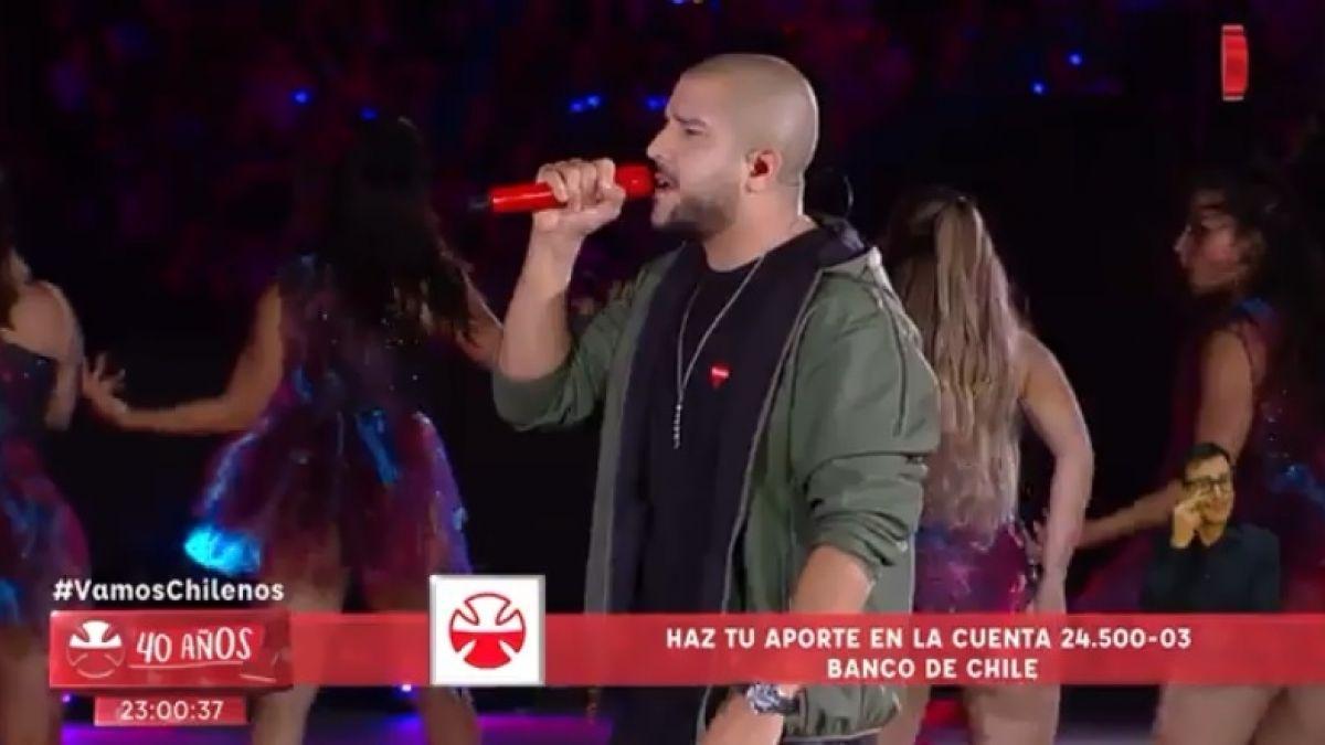 ¡Notable! Intérprete de lengua de señas la rompe en el cierre de la Teletón 2018