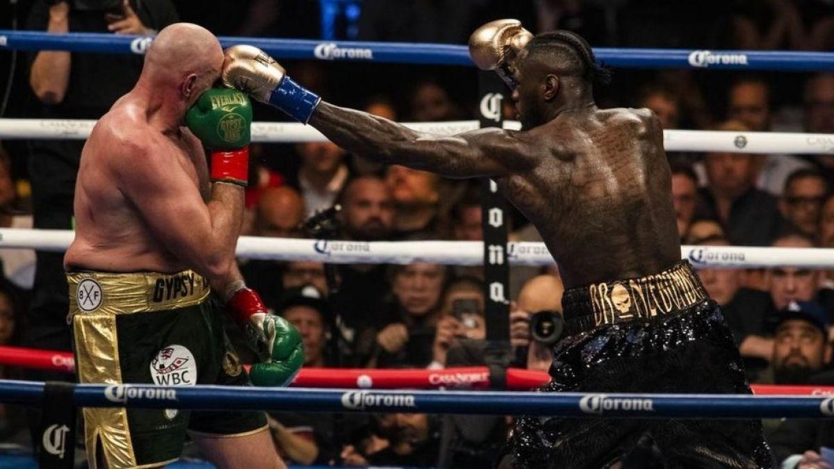 Boxeo: Fury y Wilder empatan en una electrizante pelea por el título de los pesos pesados