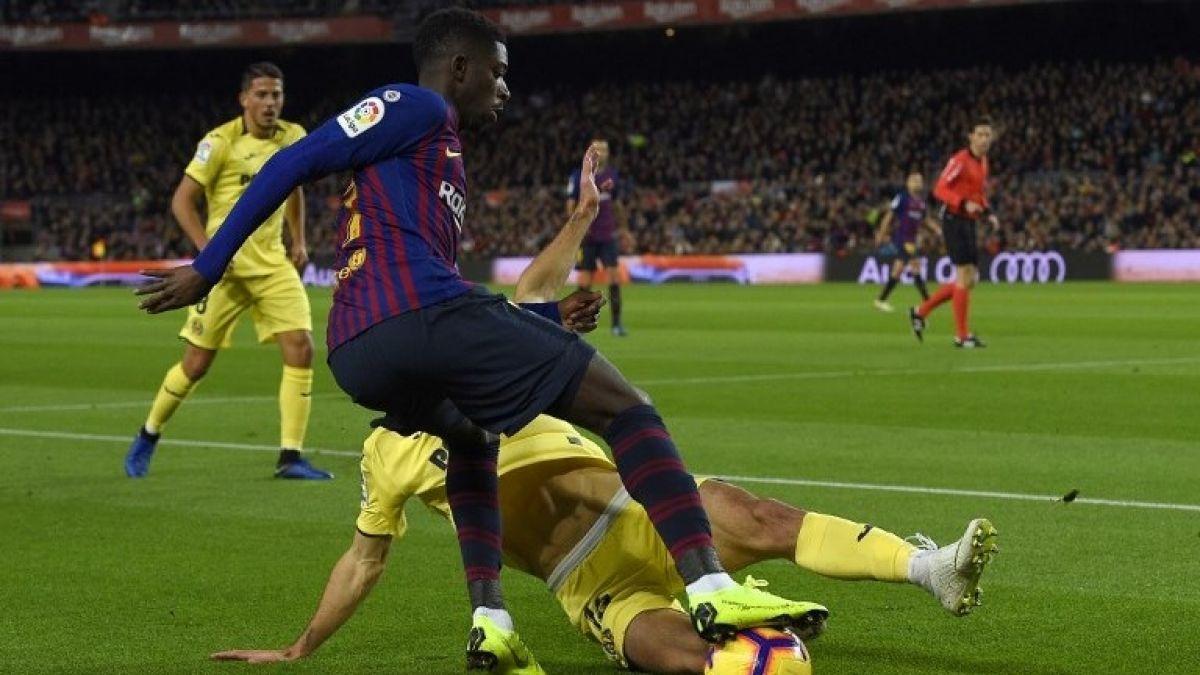 """[VIDEO] La jugada con que Dembélé le dio un """"baile"""" a su marcador"""