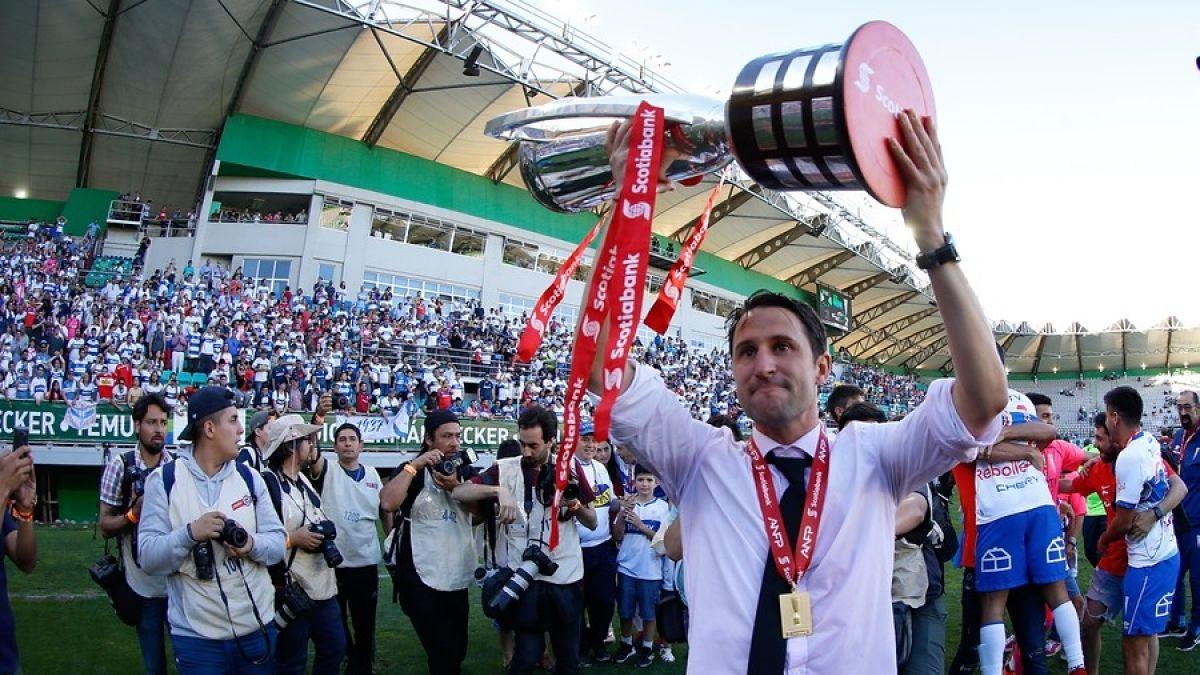 """Beñat San José: Católica es un campeón """"mucho más que justo"""""""