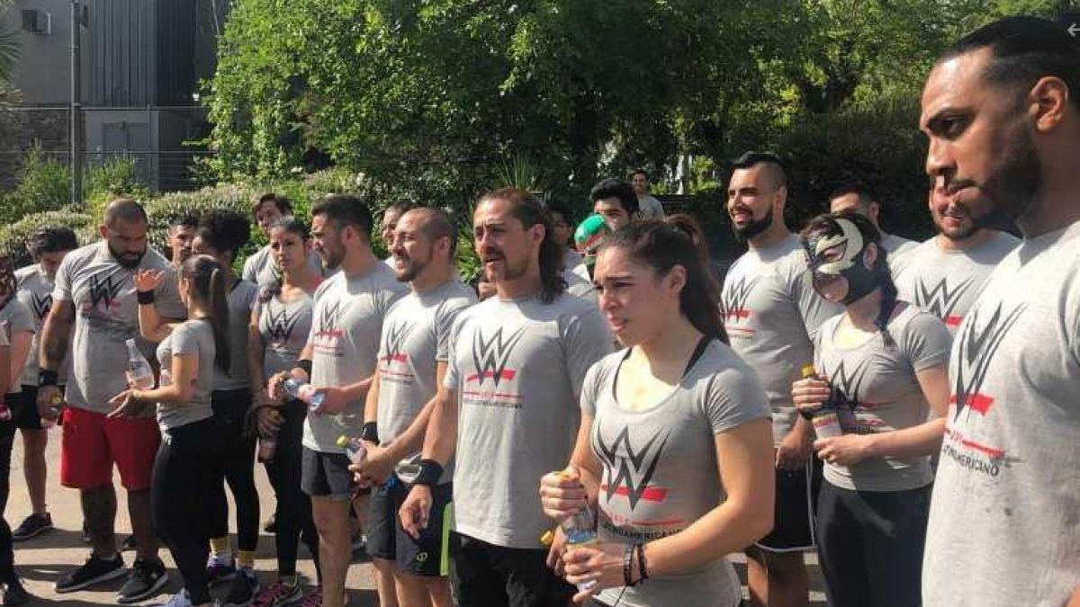 WWE se toma Chile para primer tryout latinoamericano