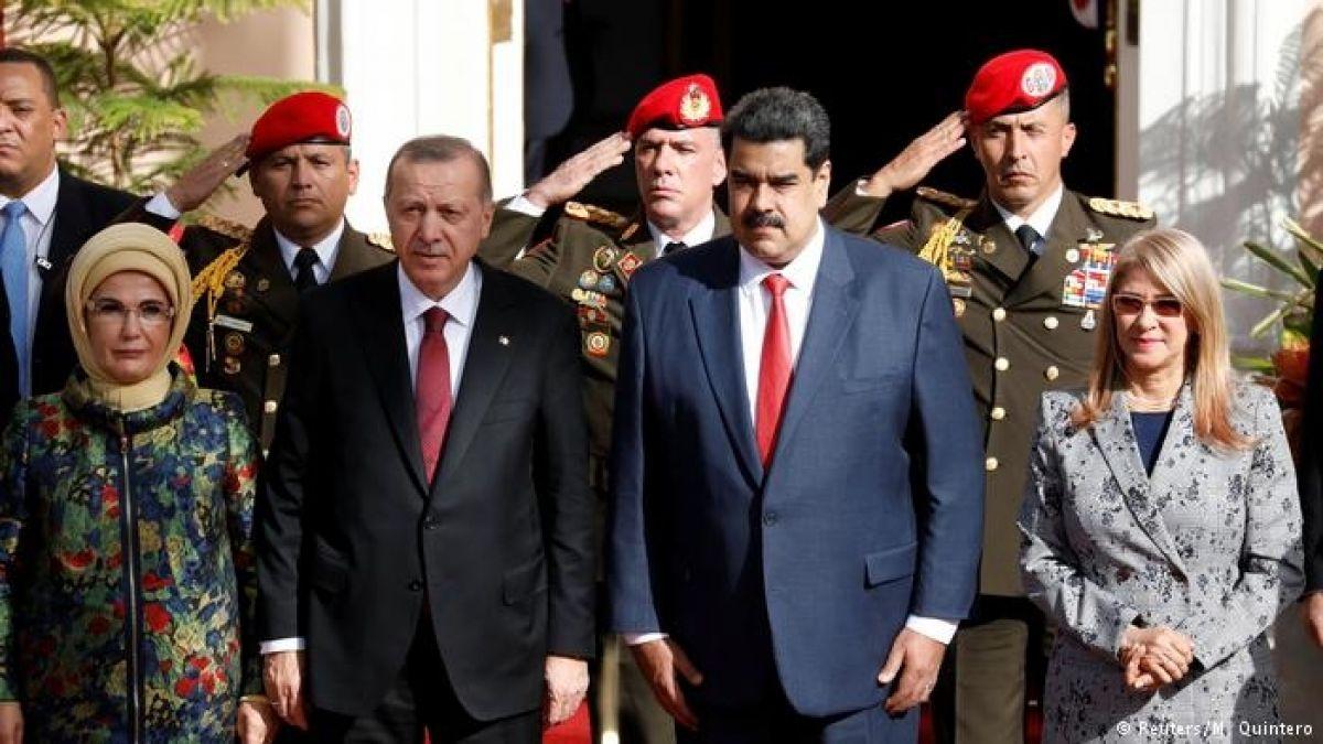 Erdogan dice que Turquía va a cubrir la mayoría de necesidades de Venezuela