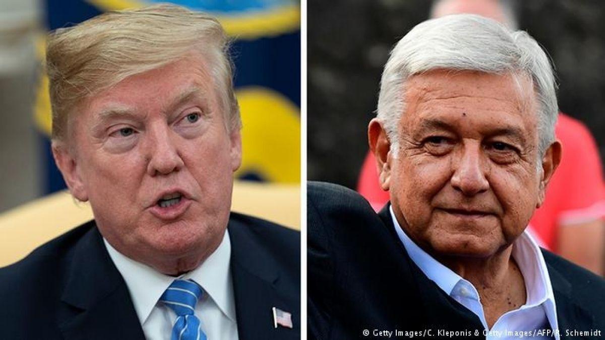 Trump predice que trabajará bien con López Obrador
