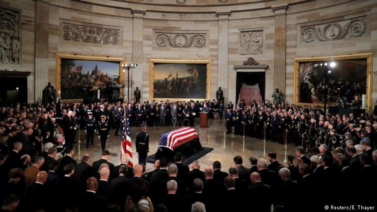 Estados Unidos se despide del expresidente George H.W. Bush