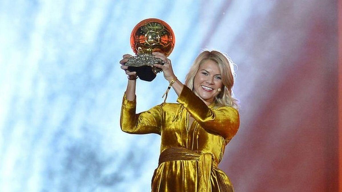 Balón de Oro: los impresionantes números de Ada Hegerberg, la primera mujer en ganar el premio