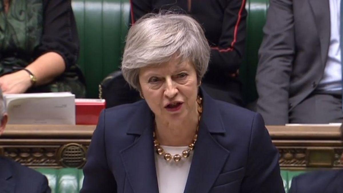 May defiende el acuerdo de Brexit ante el parlamento tras moción por desacato