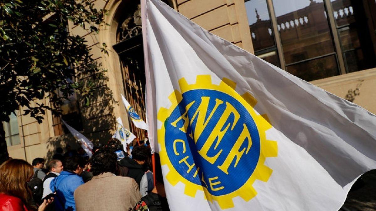 ANEF anuncia paro nacional para este jueves por desvinculaciones en el sector público