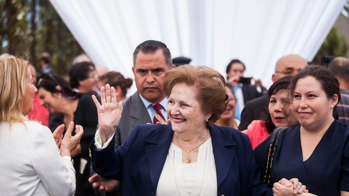 Conchalí aprueba por unanimidad quitar título de hija ilustre a Lucía Hiriart