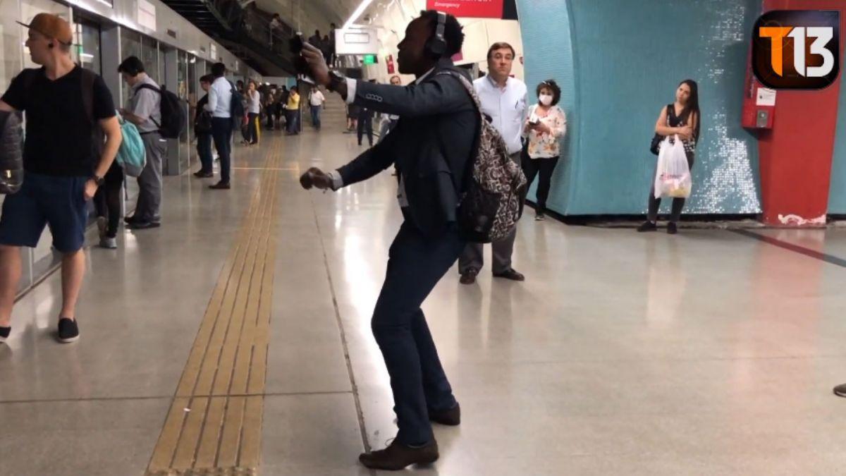 No todo es alegría: La historia de esfuerzo y superación del colombiano más feliz del Metro