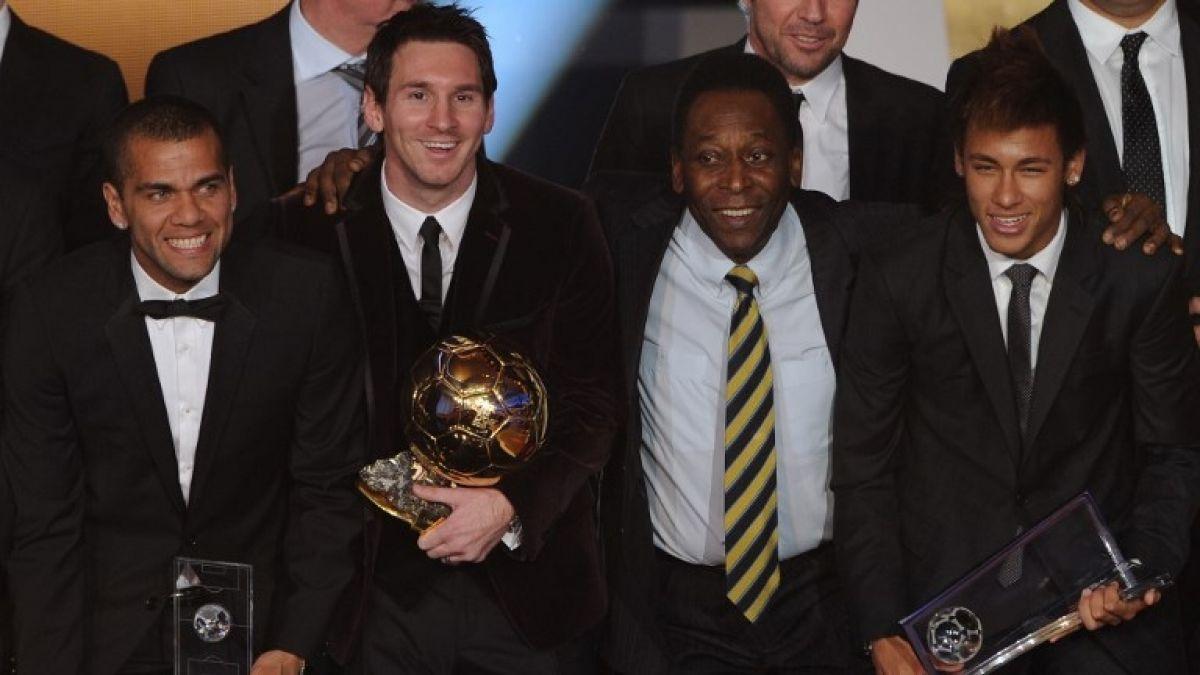 Pelé en picada contra Messi: asegura que golpea el balón con una pierna y no sabe cabecear