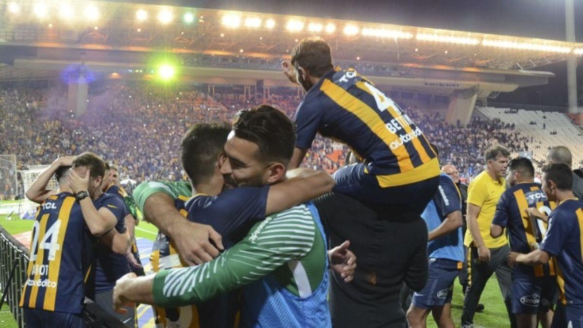 Alfonso Parot se corona campeón con Rosario Central en la Copa Argentina