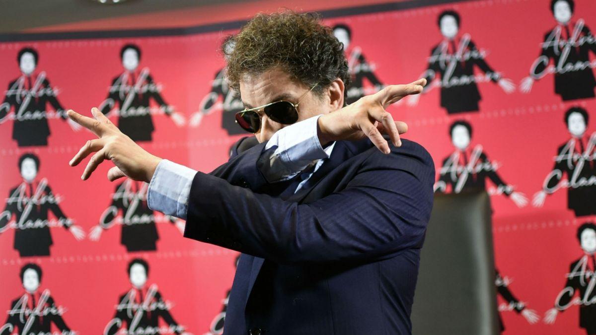 """Andrés Calamaro: """"Me gusta mucho el hip hop, al trap lo encuentro demasiado 'genérico'"""""""