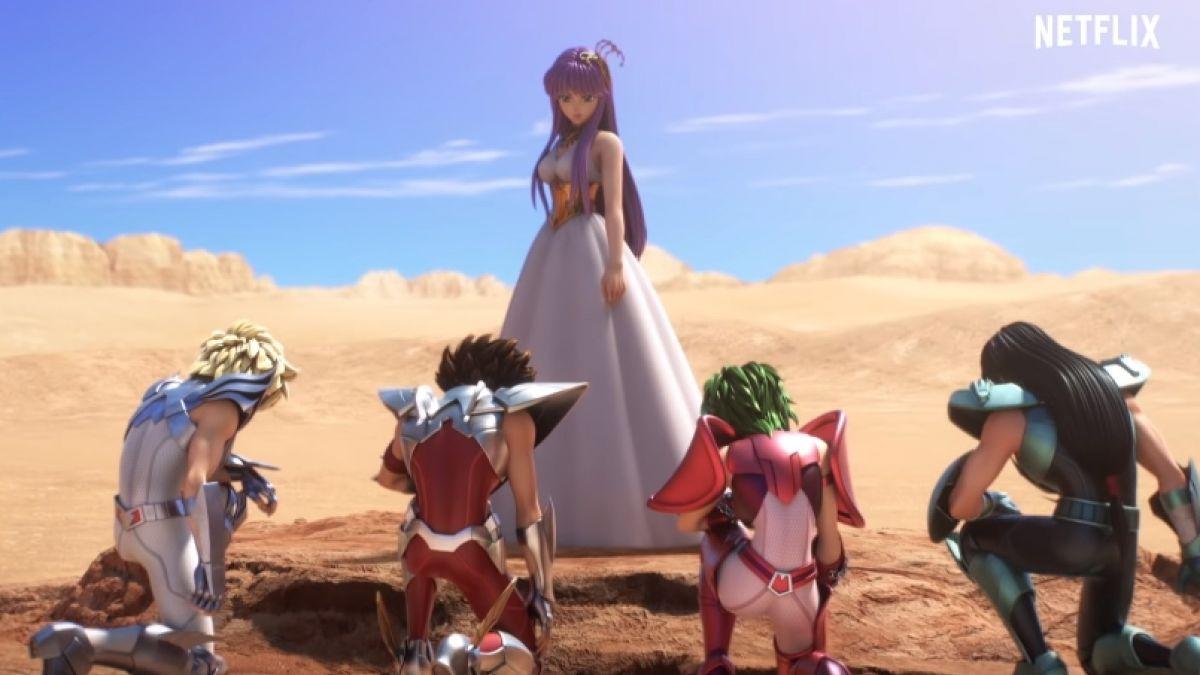 Caballeros del Zodiaco - Tráiler de la nueva serie anime de Netflix