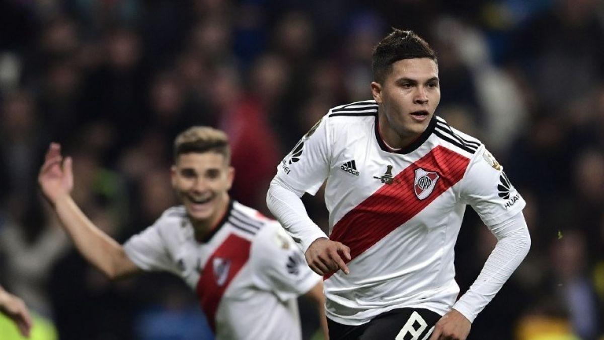 [VIDEO] El golazo de Quintero con que River se queda con la Libertadores