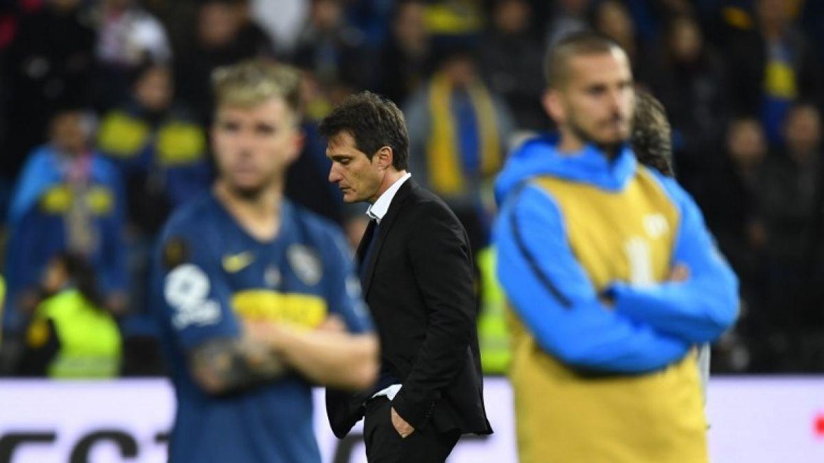 [FOTOS] Las desoladoras imágenes de los jugadores de Boca Juniors tras la derrota ante River Plate