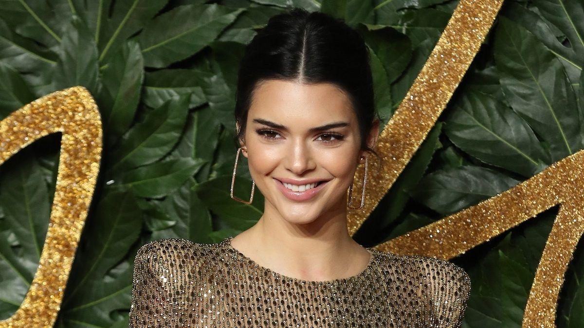 Kendall Jenner lució un vestido transparente de infarto