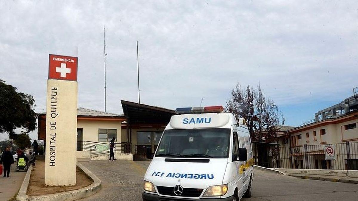 ee7dd719fb84 Mujer escapa con su hija recién nacida en Hospital de Quilpué